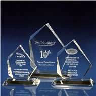 Artic Clear Award with 3D Laser Engraving