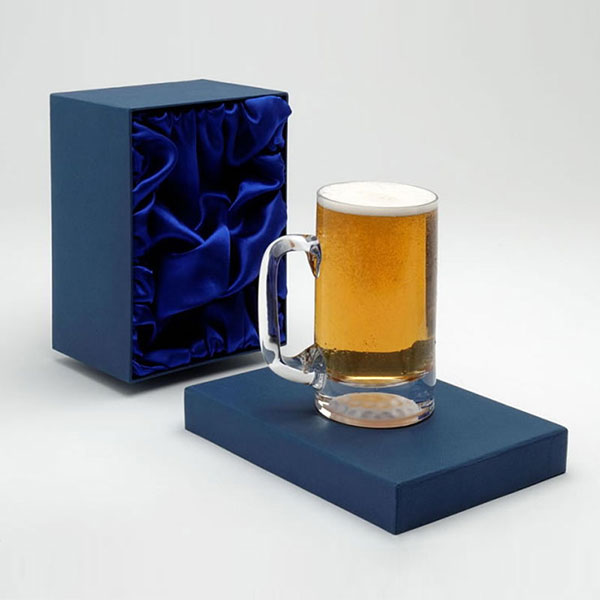 Pint Glass Tankard with Golf Ball Base