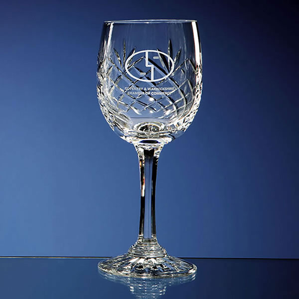 Durham Lead Crystal Panel Red Wine