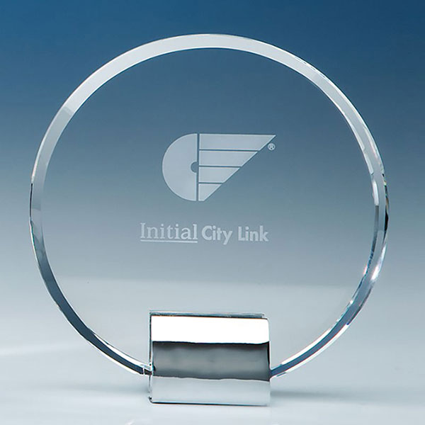 14cm Optic Circle on Chrome Stand