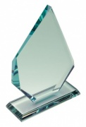 Engraved 20.5cm Jade Glass Elite Award