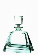 Engraved Crystal 'Midi Boston' Clear Glass Spirit Decanter