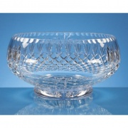25cm Lead Crystal Presentation Bowl L424