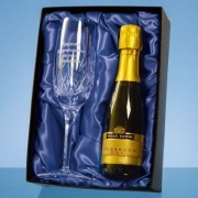 Blenheim Lead Crystal Champagne Gift Set PB201