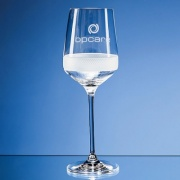 450ml Diamond Cut Crystalite Goblet SL508