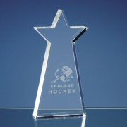 17cm Optic Crystal Statue Star Award