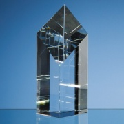 18cm Optic Crystal Diamond Award