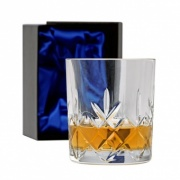 Cut Glass Whisky Tumbler in Gift Box