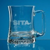 Large Curved Star Base Tankard
