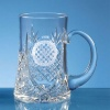 Lead Crystal Panel Tankard L436