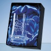 0.51ltr Engraved Glass Stern Tankard
