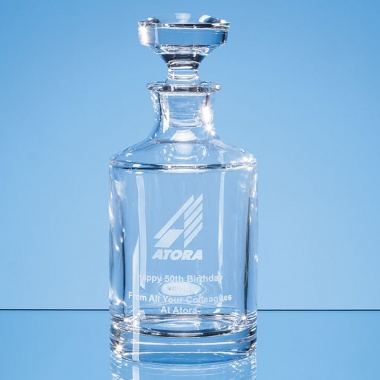 Lead Crystal Boris Spirit Decanter 0.5ltr