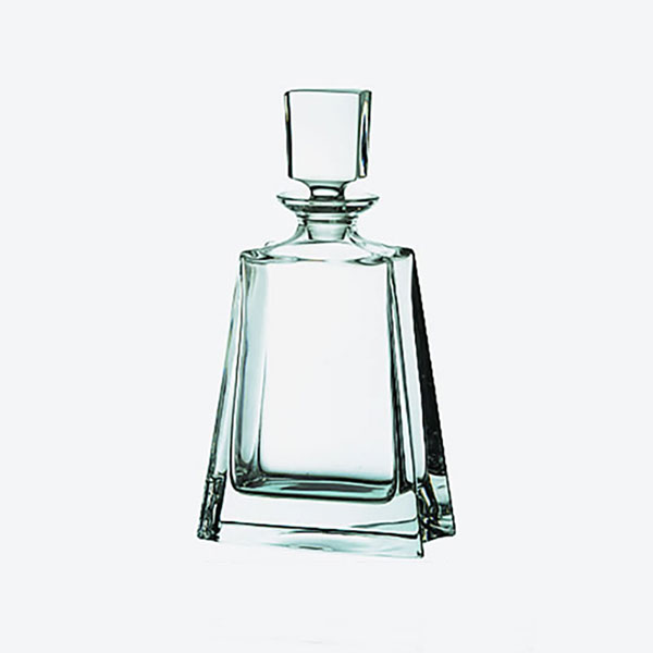 0.7ltr Lead Crystal Boston Decanter L420