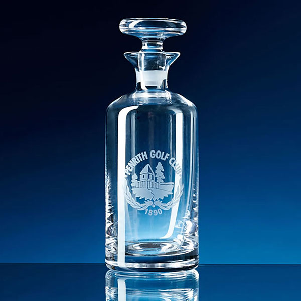Mini Round Crystal Decanter L65A