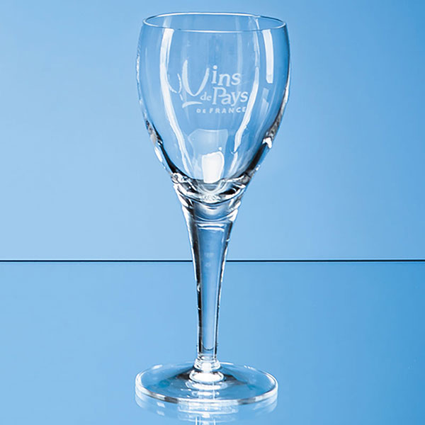 Engraved 190ml Michelangelo White Wine Glass