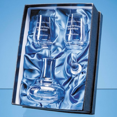 Whisky Still Mini Decanter & Shot Glasses Gift Set