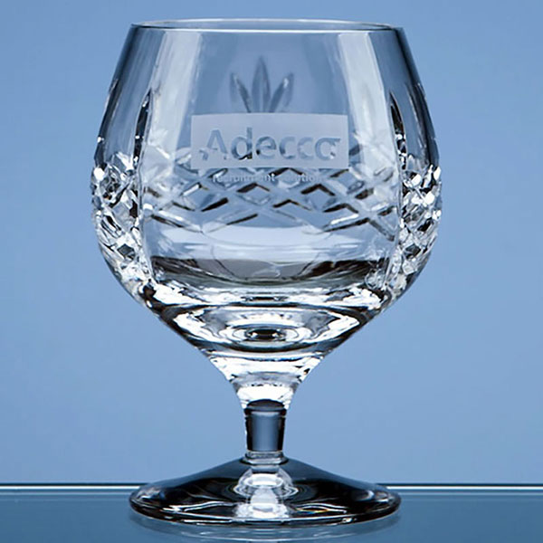 350ml Mayfair Crystalite Panel Brandy Tumbler