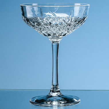 270ml Creative Bar Full Cut Champagne Saucer