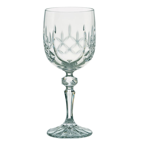 Dorchester Cut Wine Goblet with Panel