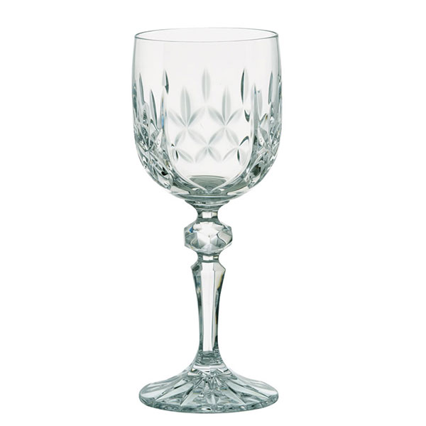 Dorchester Cut Wine Glass with Panel