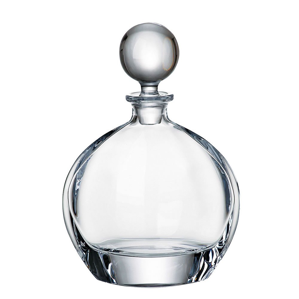 0.75ltr Round Crystalite Decanter CB11