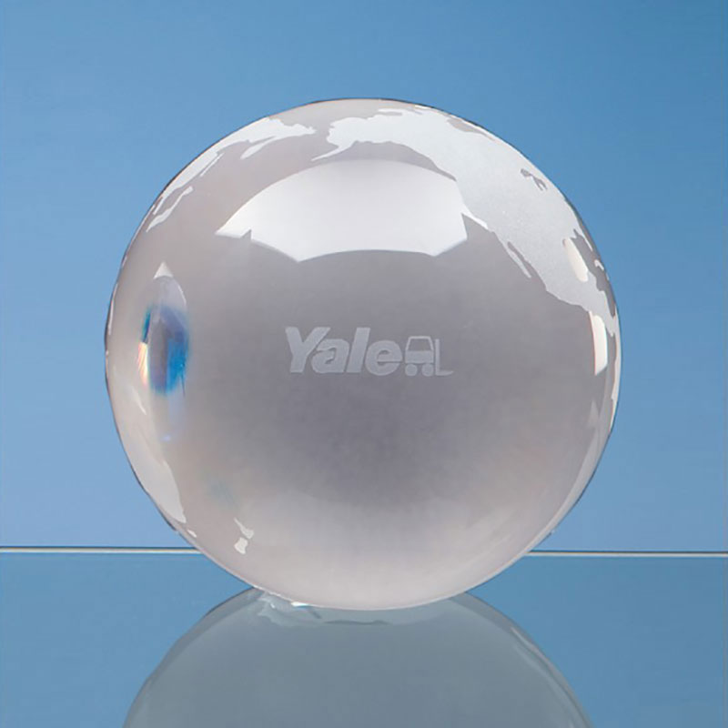 70mm Clear Glass Ocean Globe