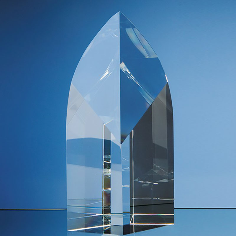 22.5cm Optic Crystal Arch Award