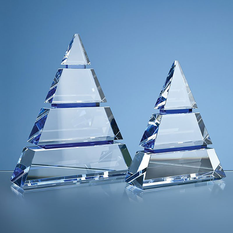 22.5cm Optical Crystal Luxor Award