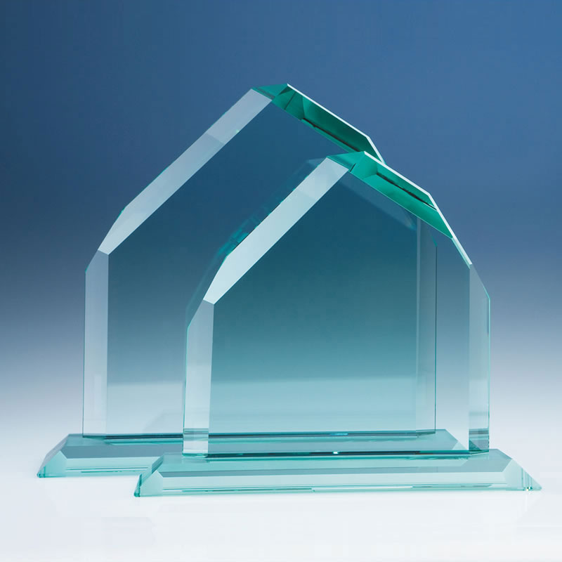 10in CrystalEdge Jade Dartmoor Peak Award