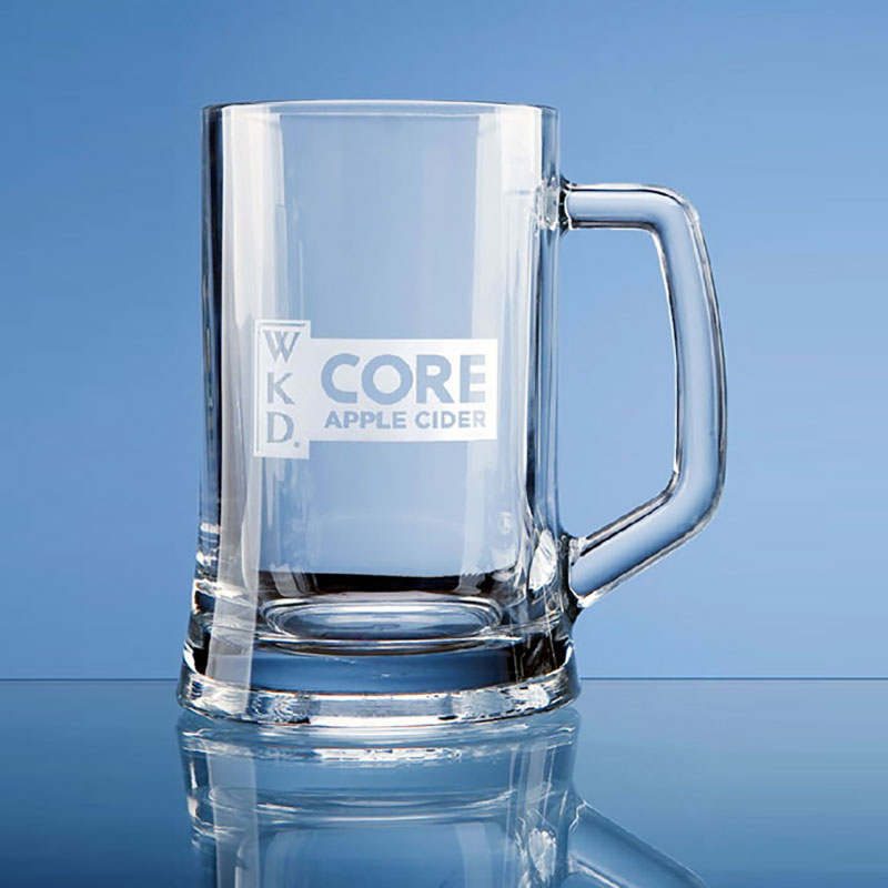 Large Plain Sided Tankard