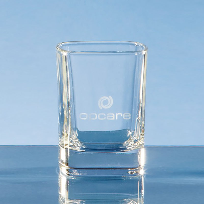 60ml Strauss Square Tot Glass W28