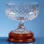 20cm Lead Crystal Footed Bowl L426