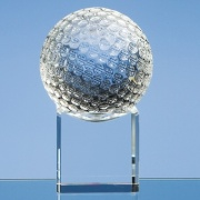 80mm Golf Ball on Clear Base