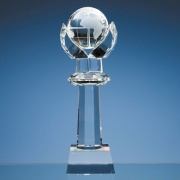 310mm Optic Crystal Globe Column