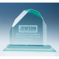 6in CrystalEdge Jade Dartmoor Peak Award