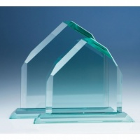 8in CrystalEdge Jade Dartmoor Peak Award