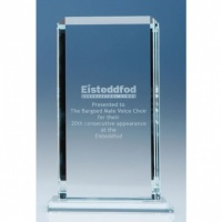 9in CrystalEdge Clear Echo Award